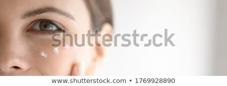 close up hands and face Stock photo © IS2