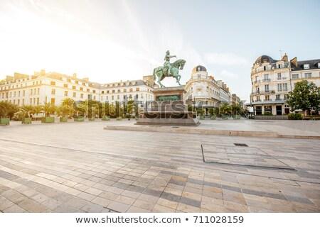 Ló történelmi Európa tér centrum város Stock fotó © fotoduki
