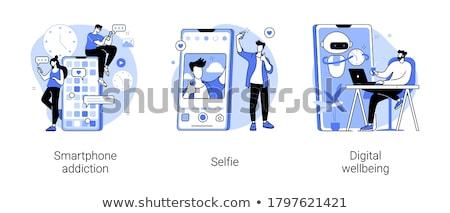 Selfie time Stock photo © iko