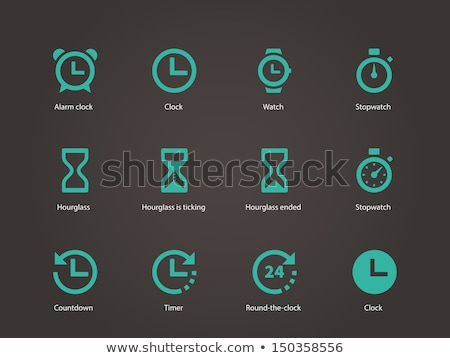 timer sign icon stopwatch symbol information vector stock photo © kyryloff