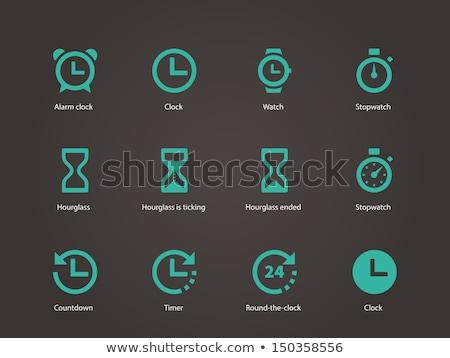 Stock fotó: Timer Sign Icon Stopwatch Symbol Information Vector