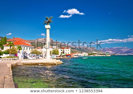 Stock photo: Kastel Stari landmarks and waterfront view