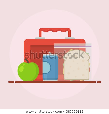 子供 ランチ ボックス 女性実業家 子 ポインティング ストックフォト © RAStudio