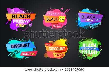 Super Sale and Offer, Reduced Price Banners Set Stock photo © robuart