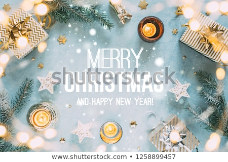 Merry Christmas and Happy Winter Days Presents Stock photo © robuart