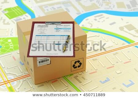 Customer Service Concept on Clipboard. 3D Render. Stock photo © tashatuvango