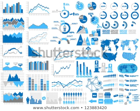 Trading Infographic Elements Stock photo © ConceptCafe