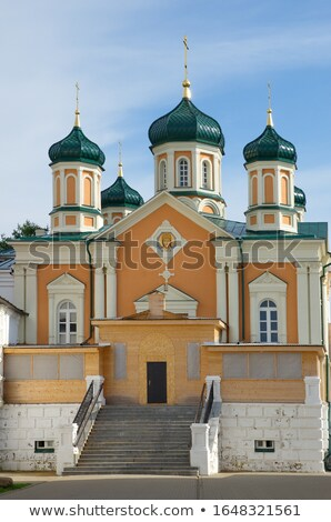 church of the cathedral of the blessed virgin kostroma stock photo © borisb17