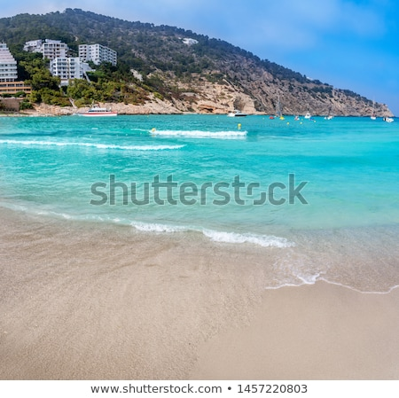 Ibiza Cala Llonga beach in Santa Eulalia Stock photo © lunamarina