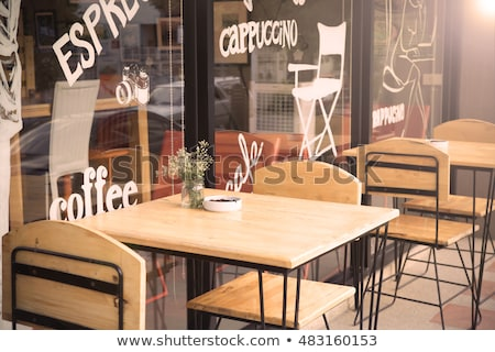 Restaurant Outdoor View, Exterior of Coffee Shop Stock photo © robuart