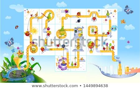 パズル カフェ ゲーム ストックフォト © Olena