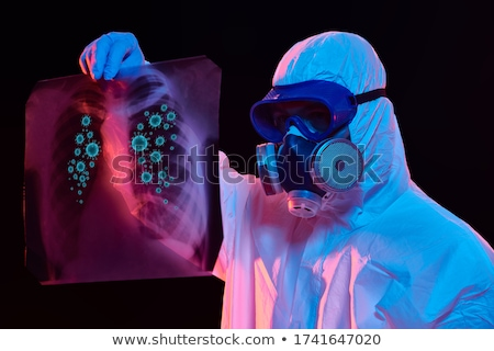 Person with x-ray personal in a hospital Stock photo © Lopolo