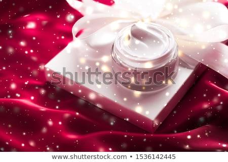 Magic night face cream as beauty skin moisturizer, luxury spa co Stock photo © Anneleven
