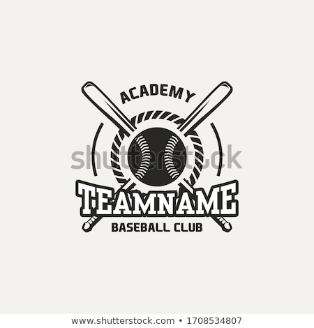 Baseball Bat And Ball Sport Game Poster Vector Stock photo © pikepicture