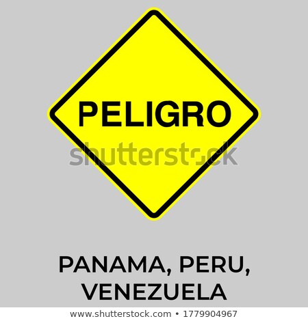 Panama Highway Sign Stock photo © kbuntu