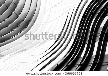 Black and white glass texture Stock photo © IMaster