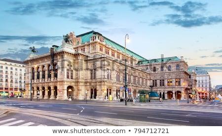 Opéra maison Vienne Autriche Europe vin Photo stock © Spectral