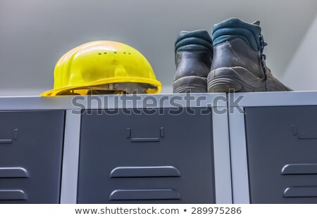 A construction worker calling a strike. Stock photo © photography33