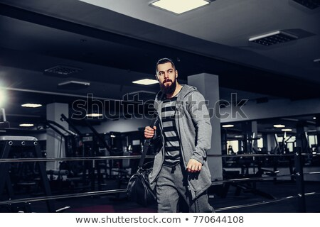 Man leaving the gym Stock photo © photography33