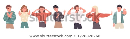 Negative gesture Stock photo © pressmaster