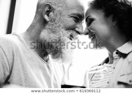 Mature Couple B&W Stock photo © lisafx