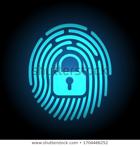 fingerprint security digital stock photo © idesign