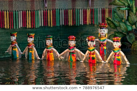 Traditionellen Vietnam Theater asian asia Stock foto © travelphotography