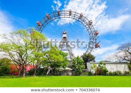 ferris wheel at vienna prater stock photo © franky242