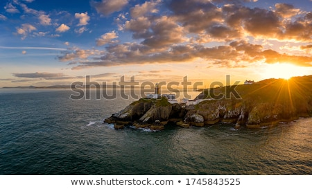 Cliff and lighthouse Stock photo © Harlekino