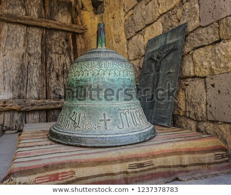 Ancient bell in Tatev monastery Stock photo © ruzanna