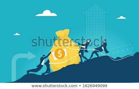 comercialización · del · internet · digital · pantalla · táctil · interfaz · negocios · mujer - foto stock © feedough