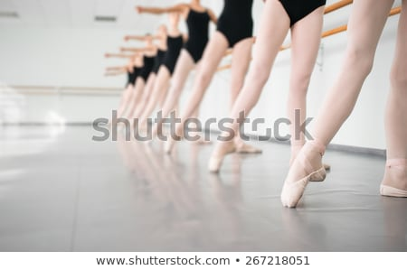 genç · balerin · kadın · klasik - stok fotoğraf © Forgiss