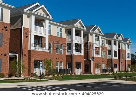 Generic Apartment Buildings Stock photo © jkraft5