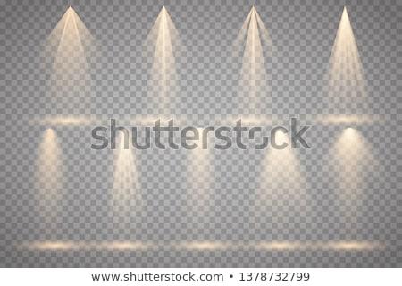azul · lámpara · gerente · eléctrica · negocios · mano - foto stock © velkol