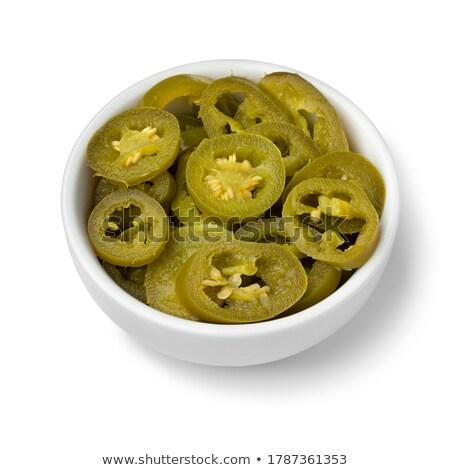 Green jalapeno pepper Stock photo © wavebreak_media