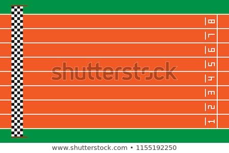 número · oito · corrida · seguir · atletismo - foto stock © stevanovicigor