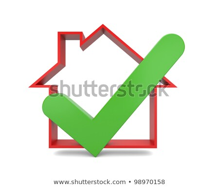 Home inspection. Success metaphor. Image contain clipping path  Stock photo © dacasdo