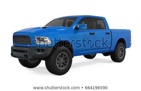 Azul isolado luz sombra negócio esportes Foto stock © Supertrooper