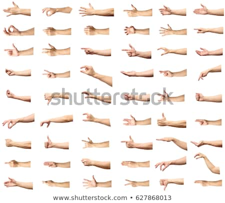 Homem mão assinar negócio Foto stock © Gloszilla