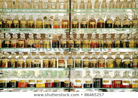 Perfume tienda Cairo mercado Egipto botella Foto stock © travelphotography