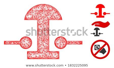 button switch off on 2d Stock photo © mizar_21984