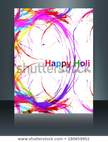 mooie · kleurrijk · indian · festival · grunge · stijlvol - stockfoto © bharat