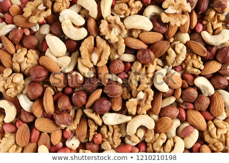 mixed roasted nuts stock photo © nito