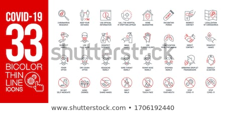 Red Symbols Stock photo © barbaliss