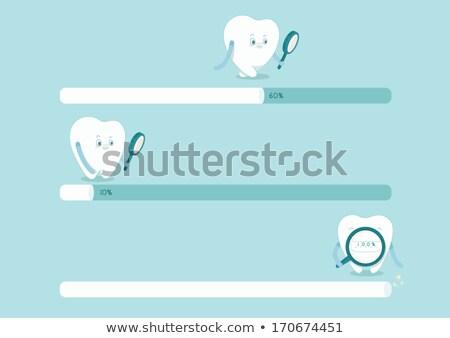 Diş fırçası diş macunu arka plan dişler beyaz bakım Stok fotoğraf © monkey_business
