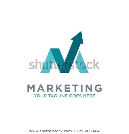 logo · ticari · yatırım · şirket · ofis · dizayn - stok fotoğraf © Viva