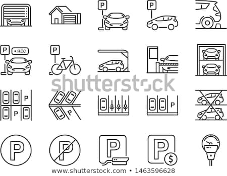 Parking Vector Icon Design Stock photo © rizwanali3d