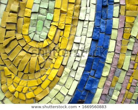 волнистый форма тротуар бесшовный текстуры Сток-фото © tashatuvango
