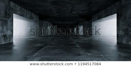 Black architecture background stock photo © ylivdesign