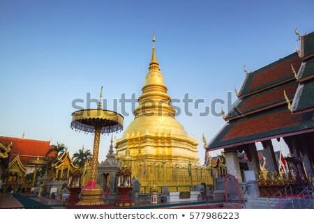 Wat Phra That Hariphunchai temple Stock photo © smithore